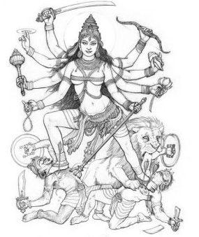 Las diosas del tantra: Durga