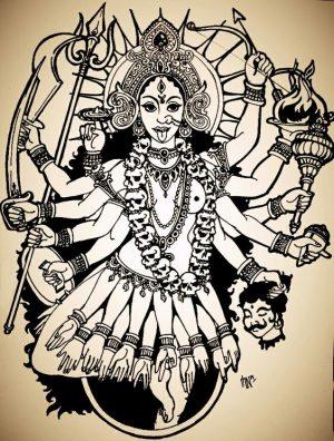 Las diosas del tantra: Kali