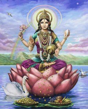 Las diosas del tantra: Lakshmi